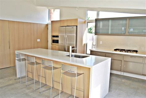 mid century kitchen island palm springs mid century modern kitchen and island in rift