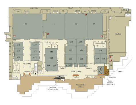 ta convention center floor plan wscc level 6 visit seattle