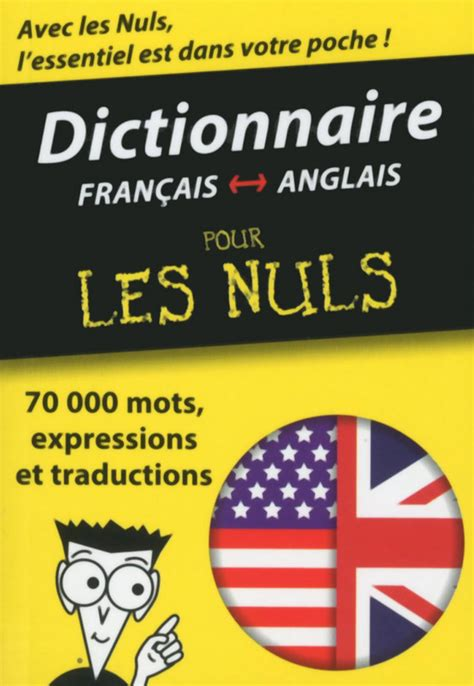 anglais franais dictionnaire mini dictionnaire anglais fran 231 ais fran 231 ais anglais pour