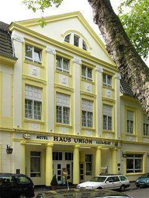 hotel haus union oberhausen hotel haus union in oberhausen germany lonely planet