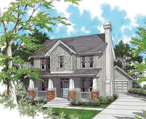 architectural design house plans two story bungalow 69227am architectural designs house plans