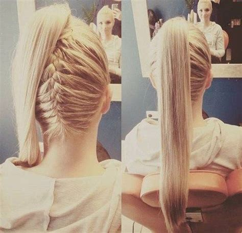 how to braid pinup ponytails best 20 high ponytail hairstyles ideas on pinterest