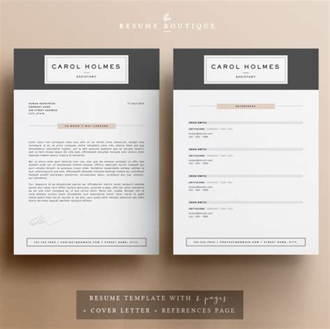 86 best images about resume on creative resume cover letter template and cv design