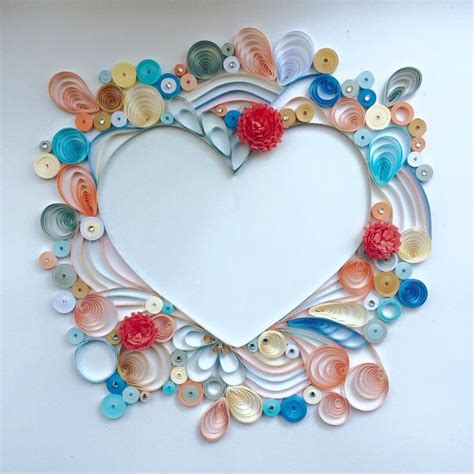 paper quilling for gifts and home