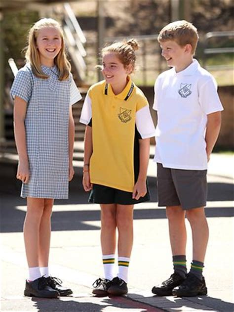 12 year old school uniform students drop old uniforms to conform to a new reality