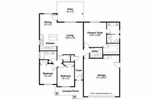 Craftsman Floor Plan by Craftsman House Plans Camas 30 711 Associated Designs