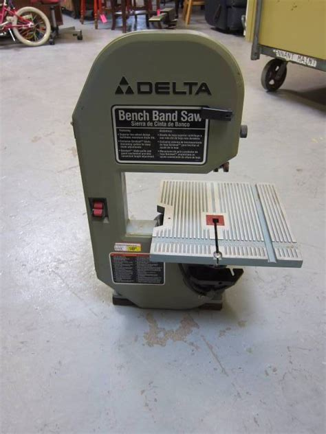 delta bench band saw 28 185 m a williams october consignment 1 in st louis park