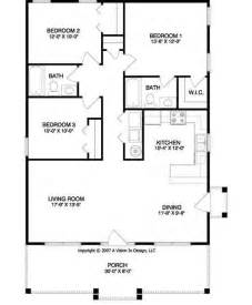 Floor Plan For Small House by 17 Best Ideas About Small House Plans On Small