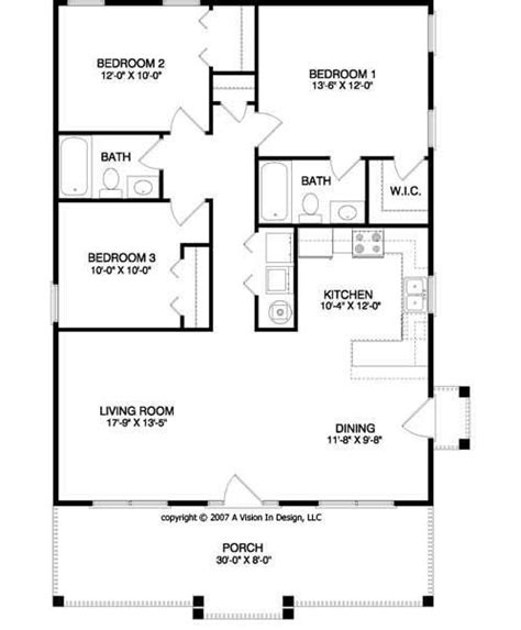 small house floor plan 17 best ideas about small house plans on small