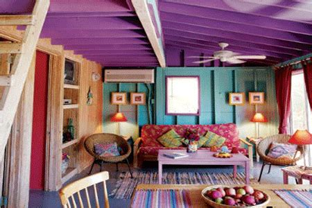 purple furniture and purple living room design inspiration