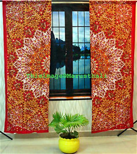 indische vorhange indisch mandala medaillon vorhang tribal boho hippie