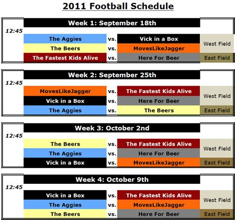 section 2 football schedule flag football schedule beehive sport and social club