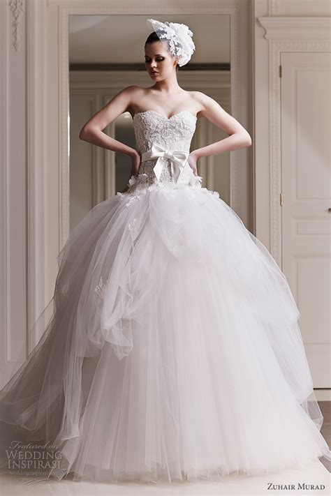 zuhair murad wedding dresses 2012 wedding inspirasi