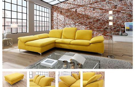 letz möbel ecksofa gelb bestseller shop f 252 r m 246 bel und einrichtungen