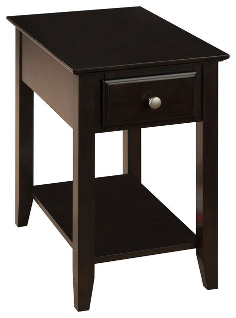 Espresso End Tables by Espresso Chairside Table Side Tables And End Tables By