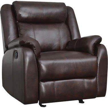 global furniture grg9303brn tuscany glider brown recliner