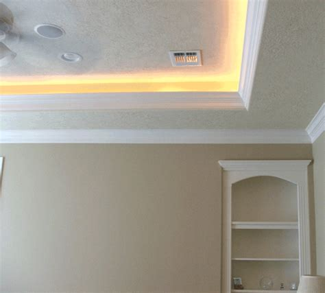 How To Build A Tray Ceiling With Lights Tray Ceiling Rope Lighting Rope Lights Ceilingpost