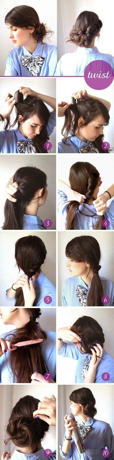 Kunciran Ikat Rambut I inilah gaya rambut ala korea yang hits banget fashion