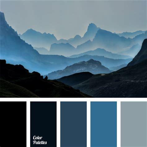 Matching Color Schemes by Silver Blue Color Palette Ideas
