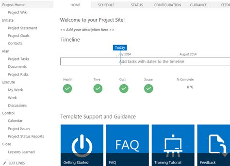 sharepoint 2013 change management template planning a project with sharepoint mpug