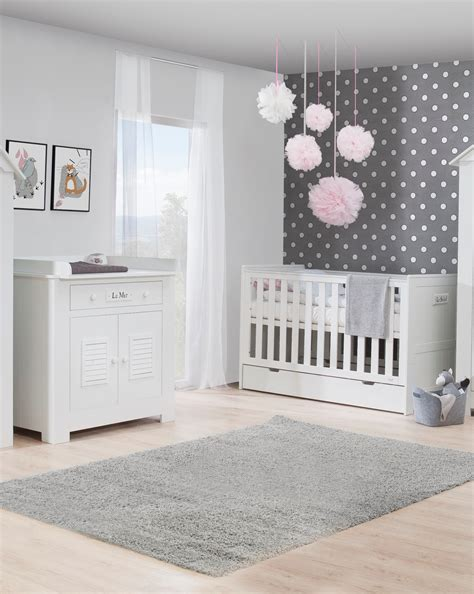 chambre bebe complete discount pinio plage 3 meubles lit 140x70 commode armoire
