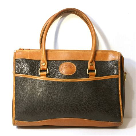 Dooney Bourke Dooney And Bourke by Vintage Dooney And Bourke Tote Purse All Weather Leather
