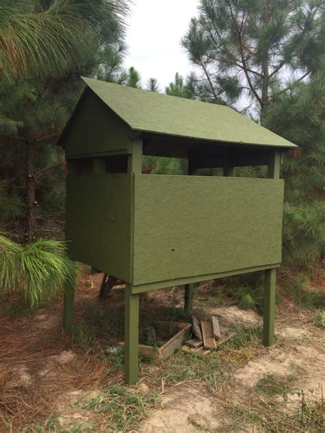Cheap Deer Blind Ideas easy cheap deer blind big deer