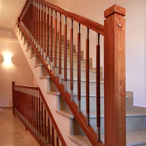 barandillas de madera para escaleras torneados fuentespalda barandillas y escaleras de madera