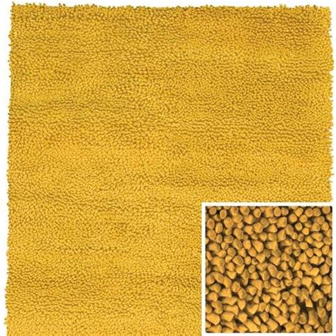 yellow wool rug handmade mustard yellow shag felted himalayan wool rug heavy quality size 3 x5 ebay