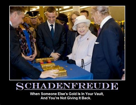 Schadenfreude Meme - though normally not capitalized in english the term