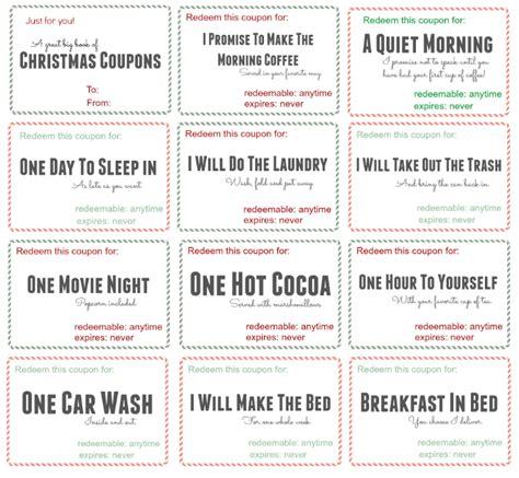 coupon books for husband templates free printable christmas coupon book saving dollars sense