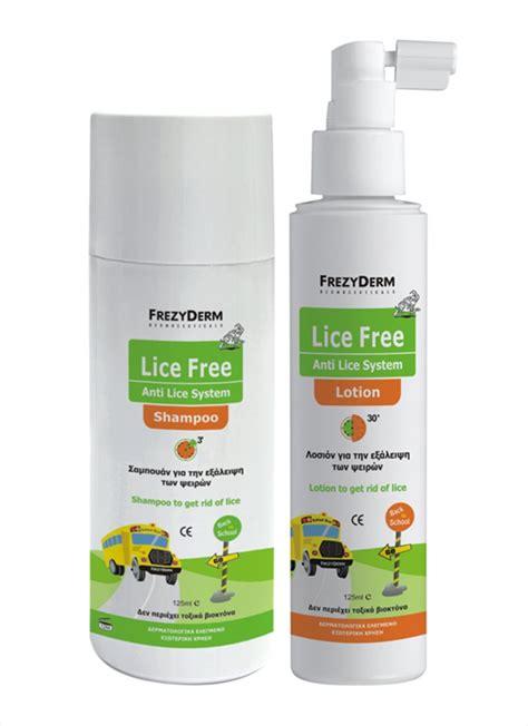 Set Louse lice free set frezyderm