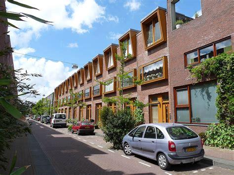 Rowhouses by Housing Borneo Sporenburg In Amsterdam Netherlands