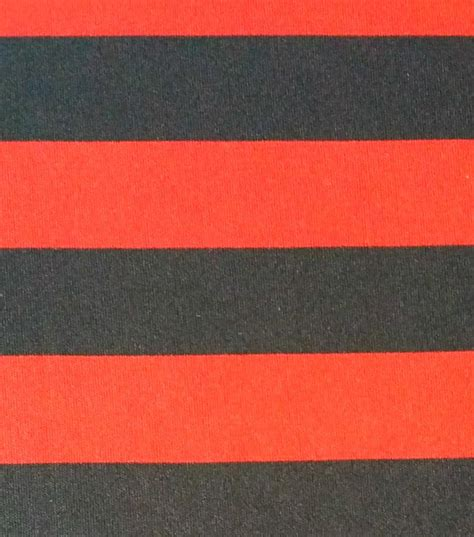 black and red upholstery fabric halloween spirit collection stripe knit red black