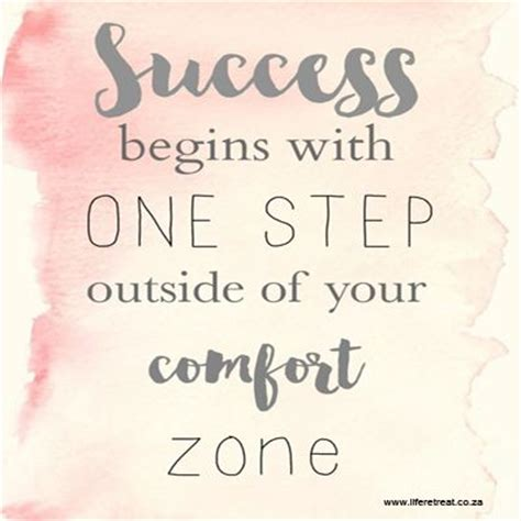 step out of your comfort zone quotes inspirational quote success http www liferetreat co