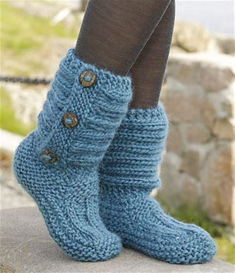 free knit slipper boot pattern free knitted crochet slipper boots patterns