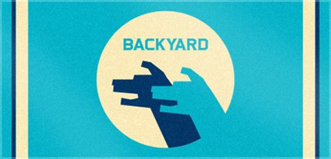 Backyard Productions by 187 Custom Woven Logo Towel For Backyard Productions