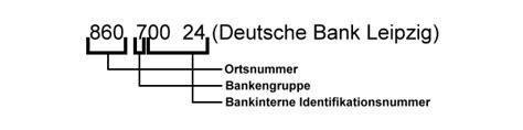 suche deutsche bank bankleitzahlen