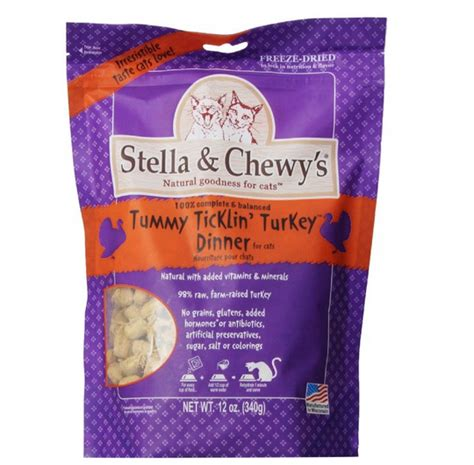 chewy food brands stella chewy s freeze dried turkey for cats true carnivores