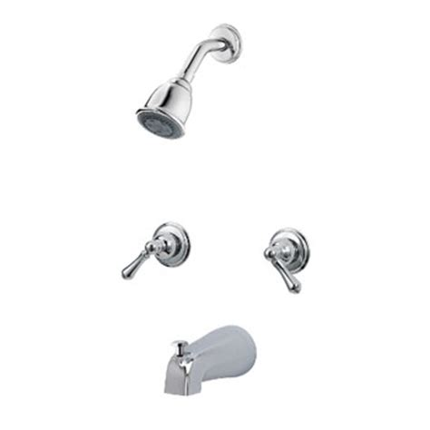 Price Pfister Shower Handle by Price Pfister 03 81bc Two Metal Lever Handle Tub