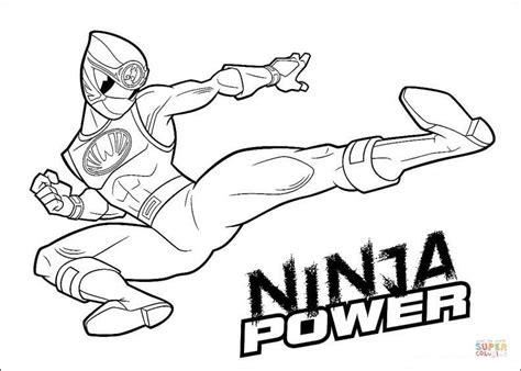 ninja outline coloring page kolorowanka moc ninja kolorowanki dla dzieci do druku