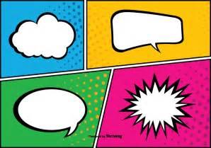 comic pop art style background illustration download