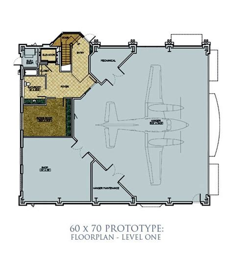 hangar size 60 x 70 home plans hanger