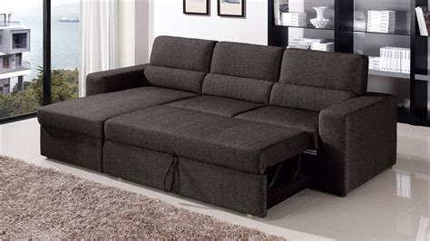 Sofa Sleeper With Storage Sectional Sofa With Sleeper And Storage Sofa Ideas