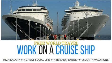 ship jobs no experience payaway co uk get paid to travel the world