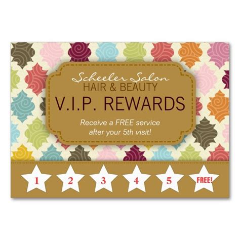 customer rewards card template 1570 best customer loyalty card templates images on