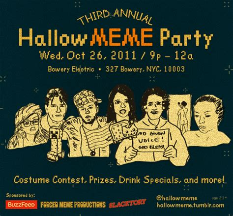 Internet Meme Costume Ideas - hallowmeme costume party
