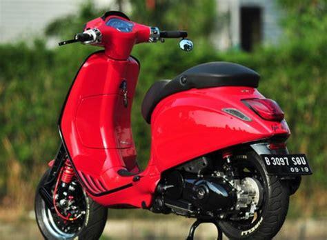 modifikasi mesin vespa sprint modifikasi vespa sprint 150 3v 2014 berawal dari