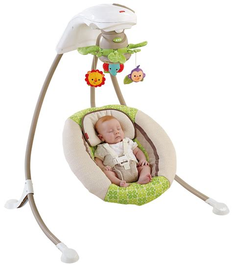fisher price rainforest portable swing fisher price my little snugabear cradle n swing walmart com
