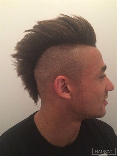 short hair blowouts men mohawk big blowout hairstyle brayden brody